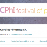 Cerbios-Pharma fielding strong team at online CPhI Pharma Festival