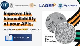 Skyepharma harnesses Microfluidizer<sup>®</sup> Technology to improve bioavailability of APIs