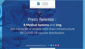 B Medical Systems and 1mg join hands for a reliable cold chain infrastructure for COVID-19 vaccine distribution