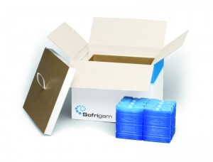 Sofribox An insulated box to safeguard the cold chain