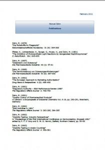 Manuel Zahn - Publications