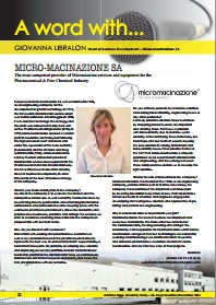 Interview with Leading Micronization Services and Equipment Provider