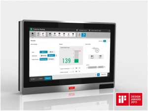 User-friendly -  Hapa's new, award-winning HMI is easily integrated into the most complex production lines