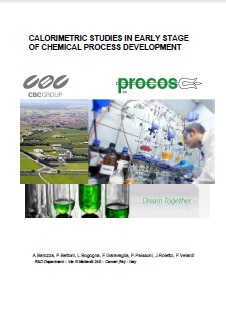 Calorimetric Studies in Early Stage of Chemical Process Development
