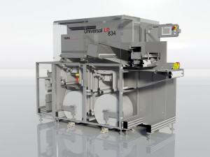The Universal Label Printer is a fully-digital UV DOD Piezo inkjet system which combines top-of-the-class precision, accuracy and quality of white print