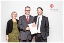 Proud winners – Monika Hartz, Laetus, Jean-Luc Devenoge, and Alexander Schmidt, both Hapa