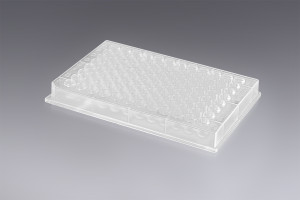 New Riplate® 96 PP plate manufactured from high-purity polypropylene, compatible with all leading laboratory machines