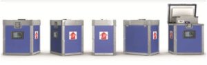 Sofrigam iBox 'smart' containers that marry rigorous physical, temperature and data security.