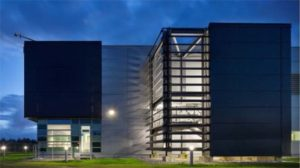 Merck & Co. 7,000m2 Vaccine and Biologics Sterile Facility (VBSF) in Carlow, Ireland: constructed and delivered by Pharmadule Morimatsu in 2010 and winner of ISPE Facility of the Year Award for Operational Excellence