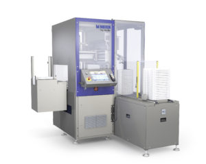Mikron Tray Handler is ideally suited to feeding in fragile medical device components