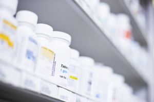 Biological medicine storage takes place at pharmacies, as well as warehouses