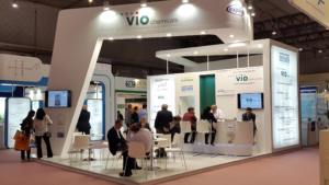 VIO Chemicals stand at CPhI 2016