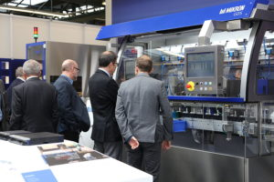 The Technology Days gave Mikron Automation's customers the opportunity to see various automation systems in action