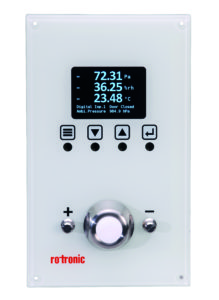 CRP5 – Clean room control panel from Rotronic