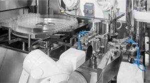 Robotic aseptic filling at AqVida Dassow plant