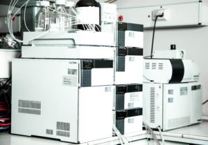 Ultra-high-performance liquid chromatography (UHPLC) system equipped with mass spectrometry detector at ViO Chemicals R&C center at Thessaloniki, Greece