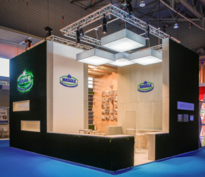 MEGGLE's stand at CPhI Frankfurt will once again feature the 'moss-covered' look of its booth at CPhI Barcelona 2016