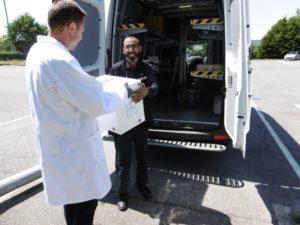 Departure: Elite packaging solution leaves Sofrigam's production plant in Arras, Hauts de France region