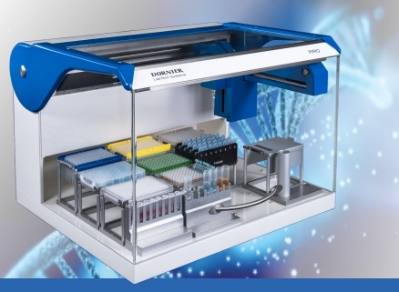 DORNIER LabTech Systems PIRO® personal pipetting robot: benchtop automated liquid handling