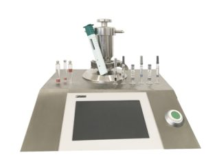 Bonfig LF-S 11 can be used to leak test pre-filled syringes, etc.
