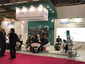 VIO Chemicals stand at the recent CPhI Worldwide expo in Frankfurt