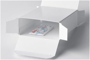 The TT Sensor equipped folding box provides a smart holistic solution. Data stored in an NFC tag containing up to 150,000 data points, can be tracked anywhere and at any time via smartphone or computer with the help of the Cloud solution.