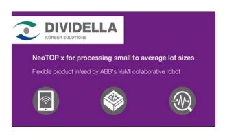 Processing small to average lot sizes – NeoTOP x