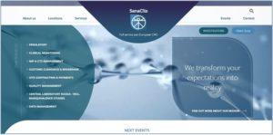 New-look SanaClis home page