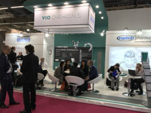 VIO Chemicals Stand at CPhI Worldwide 2017, Frankfurt