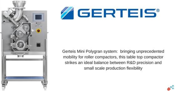 Wondrous Gerteis Showcases Mini Pactor And Mini Polygran Plus At Beutiful Home Inspiration Semekurdistantinfo