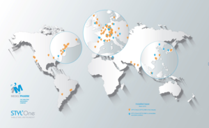 Medelpharm's network can support customers worldwide