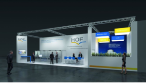 Design of HOF's stand at ACHEMA 2018