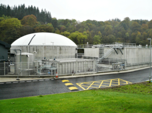 Clearfleau industrial wastewater treatment plant in the UK