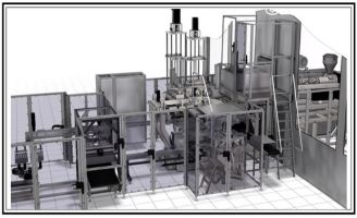 Aseptic Blow-Fill-Seal packaging machine – Bottelpack bp364