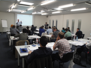Gerteis roller compaction seminars are limited to 24 people, with up to three delegates from any one company.