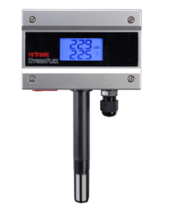 Rotronic HygroFlex HF-1: inexpensive HVAC  transmitter at heart of PFEG  duty-free warehouse solution