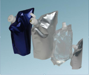 Bernhardt's freestanding film and foil pouches for liquids are also suitable for aseptic filling applications
