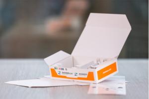 100% monomaterial parenteral cartons