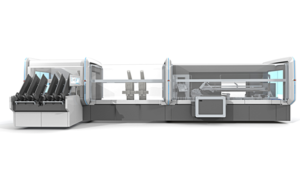 Latest generation: Dividella NeoTRAY high speed flexible packaging system