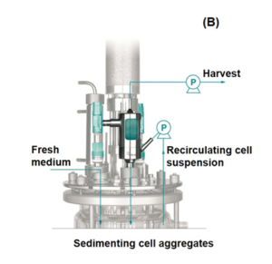 Applikon BioSep acoustic resonance cell retention device for high-density perfusion