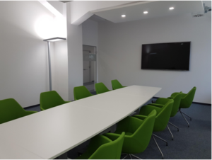 Prolytic' new meeting room – come and discuss your projects with us