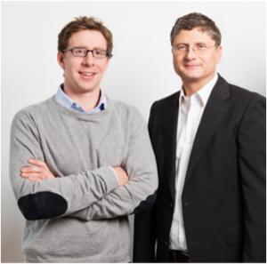 TAmiRNA CEO Dr. Matthias Hackl and CSO Dr. Johannes Grillari