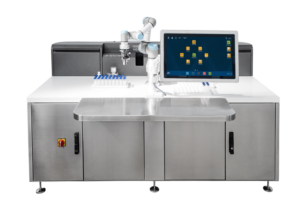 SAIL: Smart Automated Inspection Laboratory machine developed by Bonfiglioli for pharmaceutical applications