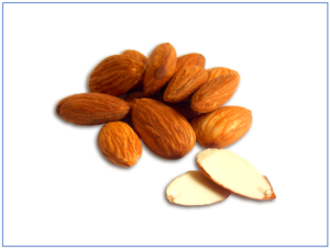 Mind the cyanogenic ciglucoside: Amygdalin is found in bitter almonds