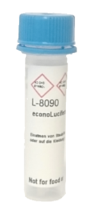 econoLuciferase_L-8090_200uL-vial: Biosynth is offering econoLuciferase™ at a discounted  introductory price of $150 for 2 mg