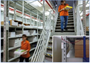 RMS Mini Logger installed in a Keppel Logistics warehouse