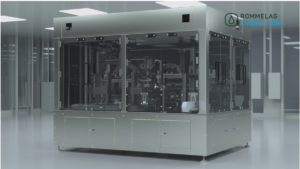 Rommelag Cosmetic Inspection Machine provides fastest automated container defects testing currently available