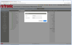 First step is to create new API device within RMS