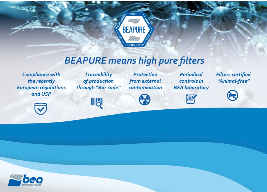 BEA Technologies showcasing innovative filtration solutions at Pharmintech Bologna