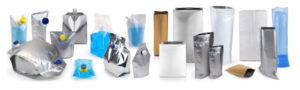 BERNHARDT pharmaceutical liquid or solids pouches can be constructed from  many different combinations of laminate material